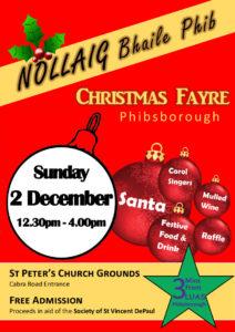 Nollaig Bhaile Phib Christmas Fayre @ St Peter's Church | Dublin | County Dublin | Ireland