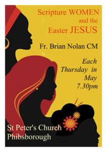 Scripture Women  & the Easter Jesus
